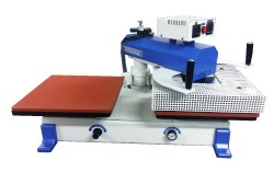1515 Double Bed Pneumatic Heat Transfer Machine