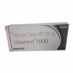 Valacyclovir Tablets USP 1000 Mg