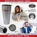 Steel Sipper Mug H-710