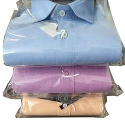 Hatchman Plain Mens Cotton Semi Formal Shirt, Machine wash