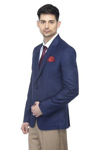 5dc009d07 Raymond And Vimal Plain   Semi-Formal Blazer