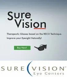 光学肯定的视觉,用于眼睛护理
