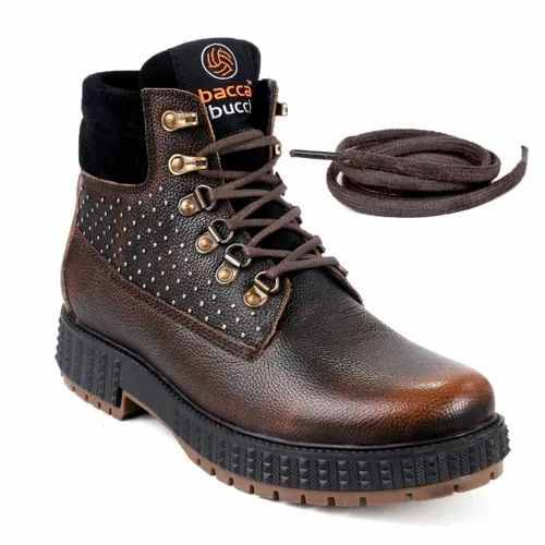 f5b40b39d5c Bacca Bucci Men's Storm Surge Water Resistant Premium Oil Full Grain  Leather Insualted/Rugged