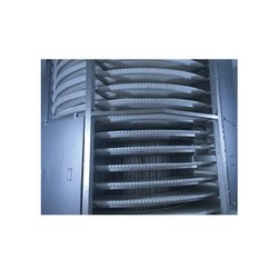 Stainless Steel Electric IQF Freezer / Spiral Hardening Tunnel Freezer, Storage Capacity: 1500 L