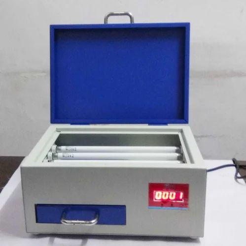 Semi Automatic Polymer Rubber Stamp Making Machine 230
