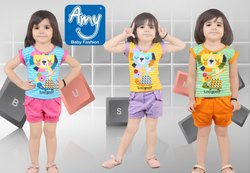 Casual Baby Girl Top & Bottom Sets - Partywear (Style No.936)