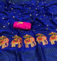 Printed Party Wear Fancy Saree