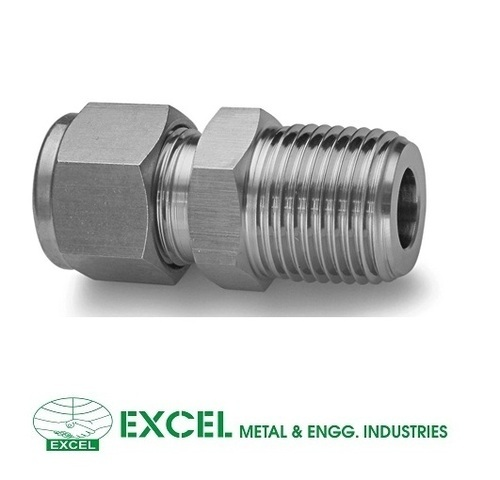 Brass And Stainless Steel Male Connectors