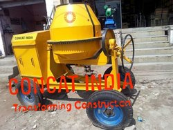 Color Coated Concrete Mixers