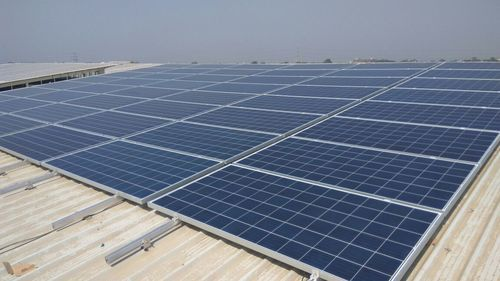 Continue Rail Solar Panel Mounting Structure