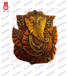 Ganesh Wall Hanging Leaf Design