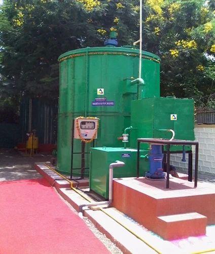 Semi-Automatic Food Waste Biogas Plant, Mailhem Ikos
