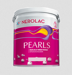 Nerolac Pearls Emulsion Paint, Packaging Type: Bucket