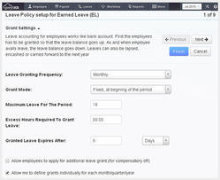 Leave Policy Payroll Software
