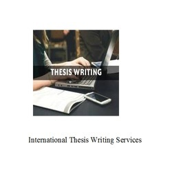 International Thesis Writing Services