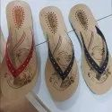 Flat Heel R-161 R161 Ladies Slippers, Size: 4-8