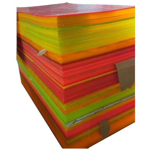 Fluorescent Color Acrylic Sheet at Rs 85 /square feet | Acrylic ...
