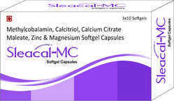 Methylcobalamin Calcitriol Calcium Citrate Maleate Zinc and Magnesium Softgel Capsules