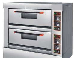 Double Deck Baking Oven Electric Operated