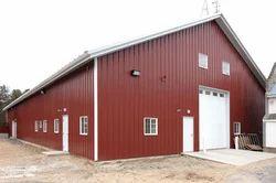 Iron Prefabricated Godown Building