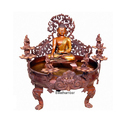 32 Inches Bronze Decorative Gautam Budha Urli