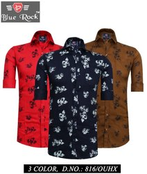 Casual Collar Neck Branded Shirts
