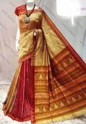 Handloom Silk Cotton Jamdani Sarees