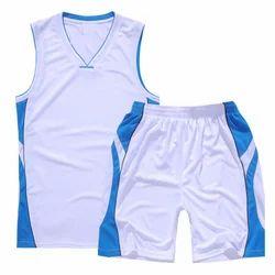 802b4639e25 White And Sky Blue Ocra Basketball Uniform