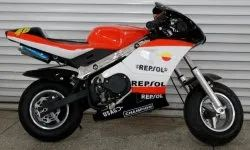 50cc Orange Super Pocket Bike For Kid