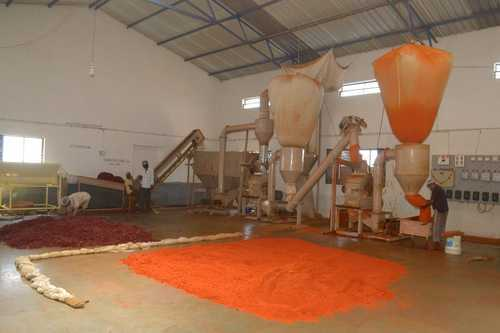 Chilli Powder Plant With Chilli Cleaning System