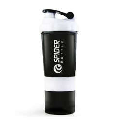 Style Homez Plastic SPIDER Gym Sipper Protein Shaker Water Bottle, BPA Free, 500 ml, Size: Medium
