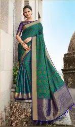 Banarasi Jacquard Weaving Saree,6.3 mtr