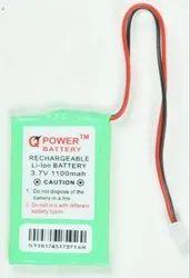 Power 3.7V 1100mAh Lithium Rechargable Battery