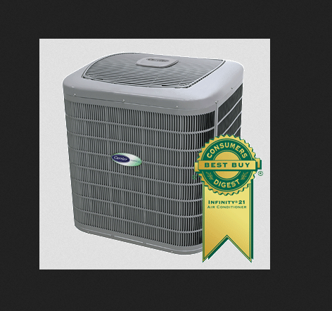 Carrier infinity 21 central air conditioner 24anb1 price
