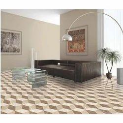 Wooden Digital Matt Tiles With 3D Effect 600x600 Mm, 8 - 10 Mm