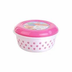 Round Plastic Food Container  3700 ml