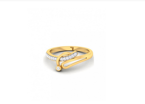 fa3fdb000 Ornaz Ring In Yellow Gold With Diamonds, Rs 17915 /piece, Ornaz ...