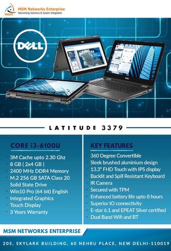 Dell Latitude 3379 | MSM Networks Enterprise | Wholesale