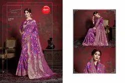 Wedding Wear Printed Designer Silk Sarees