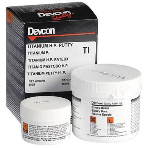 Glues, Epoxies & Cements Business & Industrial Learned Devcon Titanium Putty