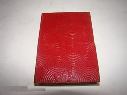 Designer Embossed Handmade Leather Diary