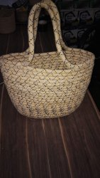 Red Plain Jute Bag