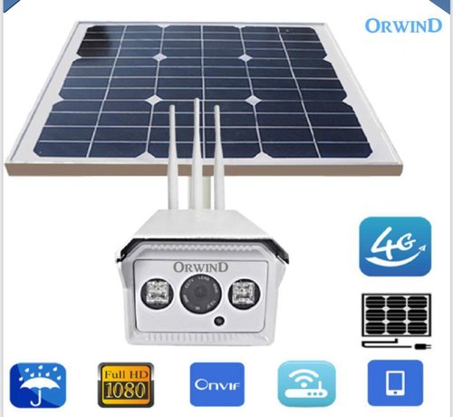 High 4k 4G Sun Solar Camera Wireless, Packaging Type: Best
