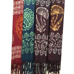 Casual Wear Ladies Printed Cotton Stole