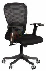 MBTC Inox Mesh Revolving Office Chair