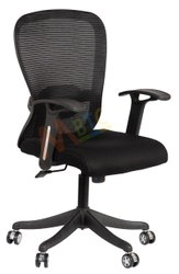 MBTC Inox Mesh Revolving Office Chair