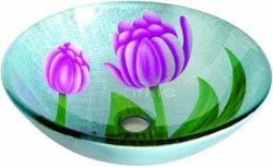 Round Glass Wash Bowl