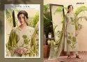 Unstitched Jay Vijay Seher Cotton Silk Digital Print Series Salwar Suit
