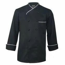 Cotton Black Chef Coat