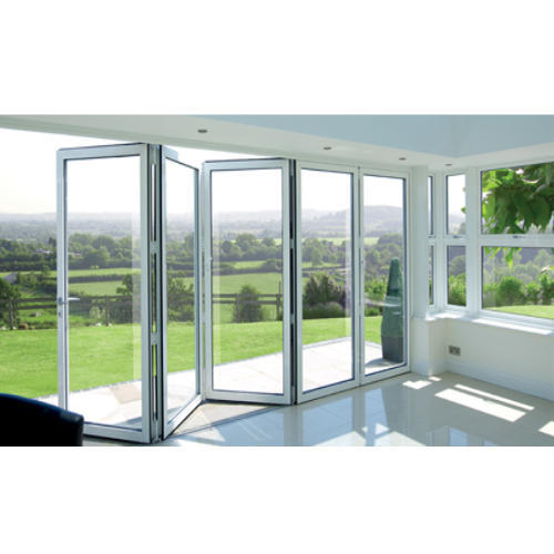 Lg Upvc Bifoldable Sliding Door at Rs 900 /square feet | Upvc Bi ...